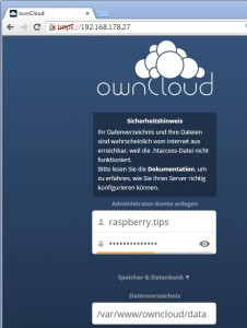 owncloud-installation