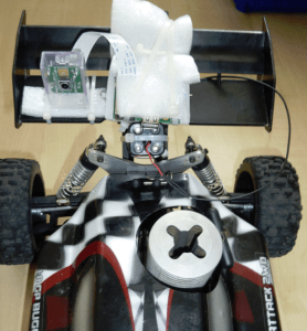 Raspberry Pi Kamera am RC-Car