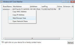 Windows-10-iot-core-watcher
